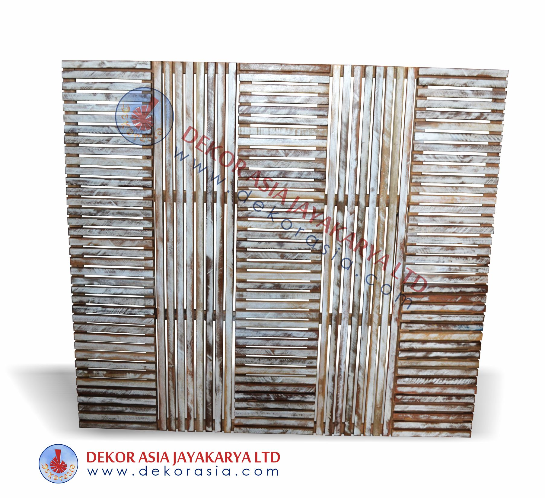 Teak Timber Screen / Wooden Screen Recycled teak timber screen for indoor and outdoor