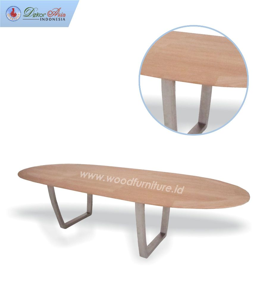 FERRARI TABLE ELLIPSE 300 STAINLESS