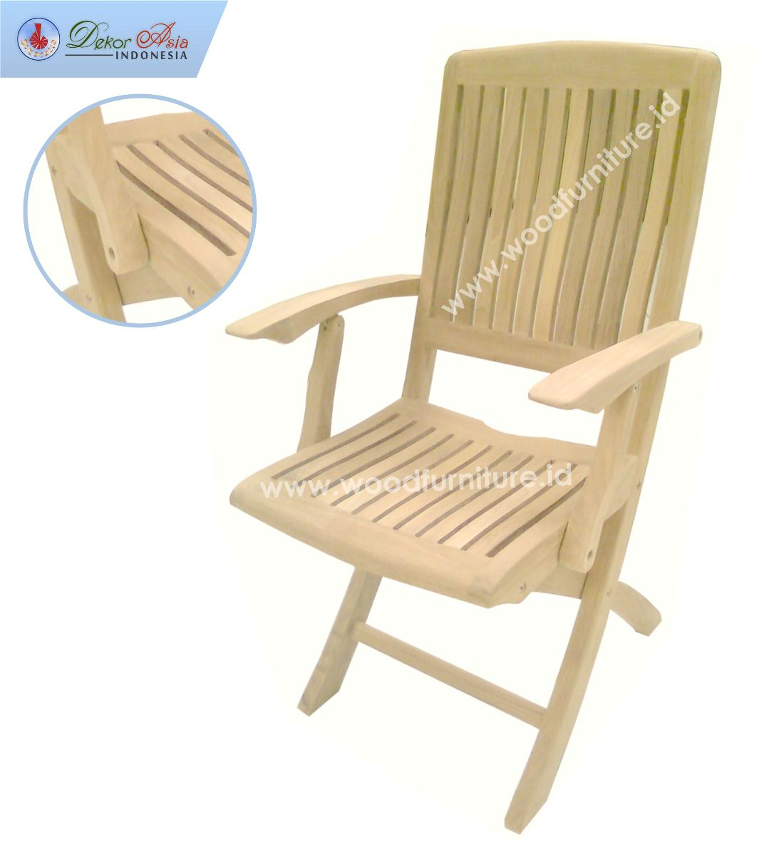 HIU 7 ARM CHAIR SS