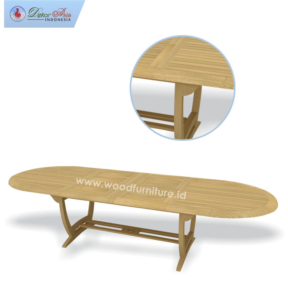 OVAL TABLE 300 SS